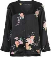 Josie Natori Midnight Garden pyjama set