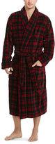 Polo Ralph Lauren Buffalo Plaid Plush Robe