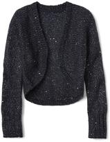 Gap Sparkle bolero cardigan