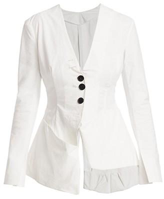 A.W.A.K.E. Mode Asymmetric Cotton Jacket