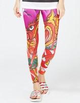 adidas Multicolor Dragon Print Legging