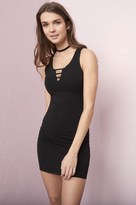 Garage Ladder Bodycon Tank Dress