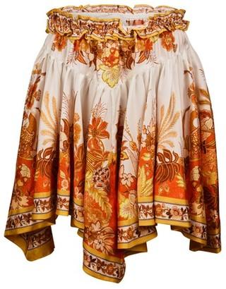 Zimmermann Brightside silk skirt