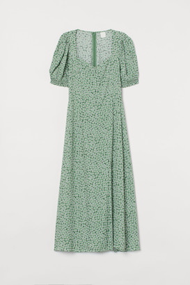 H&M Patterned Dress - Green