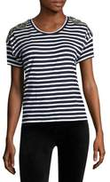 The Kooples Striped Roundneck Tee