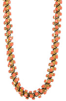 Kenneth Jay Lane Stone Twist Necklace