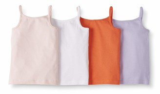 Moon And Back By Hanna Andersson Moon and Back 4 Pack Camisole Multi 10/12