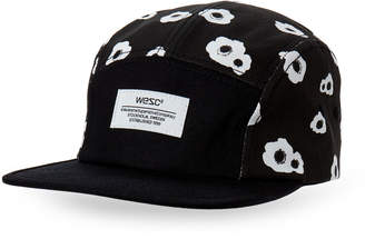 Wesc Black Poppys 5 Panel Baseball Cap