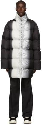 Rick Owens Black Down Jumbo Duvet Jacket