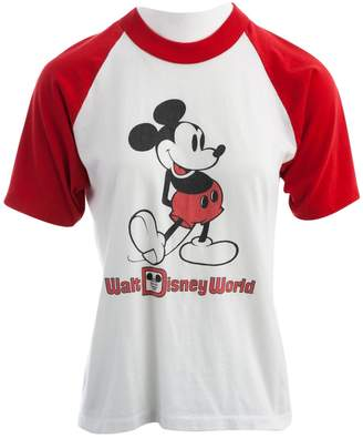 Disney White Polyester Tops