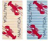 Nautica Twin Lobster Set of 2 Beach Towels