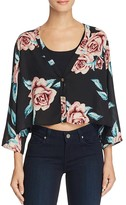 Show Me Your Mumu Uptown Floral Crop Top
