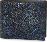 Richard James Textured leather billfold wallet