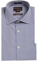 Black Brown 1826 Non-Iron Classic Fit Egyptian Cotton Pinchecked Dress Shirt