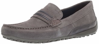 Geox Men's Snake 22 Suede Driving MOC Loafer Style