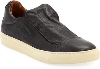 John Varvatos Men's Reed Laceless Low-Top Slip-On Sneakers