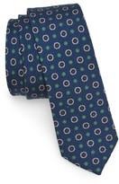 The Tie Bar Men's Floral Medallion Wool Tie