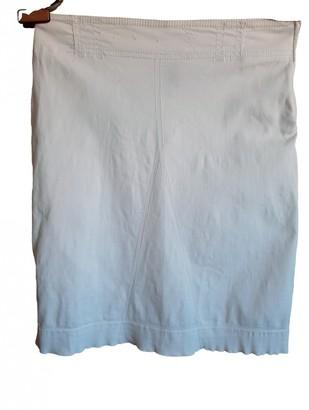 Philosophy di Alberta Ferretti White Cotton - elasthane Skirt for Women