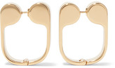 J.W.Anderson Gold-plated Earrings - one size