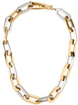 Rachel Zoe Two-Tone Link Necklace