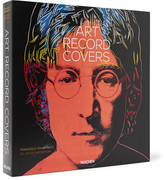 Taschen Art Record Covers Hardcover Book - Black