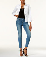 Joe's Jeans The Icon Raw-Hem Skinny Jeans