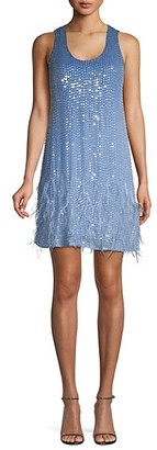 Parker Hope Embellished Shift Dress