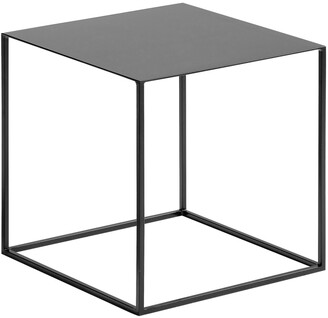 Am.pm. Romy Industrial Side Table in Lacquered Metal