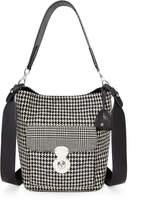 Ralph Lauren The Houndstooth RL Bucket Bag