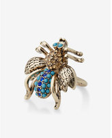 Express pave bug cocktail ring