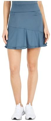 adidas Ultimate365 Knit Frill Skort (Power Berry) Women's Skort