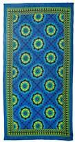 Theodora & Callum Women's Mediterranean Tile Scarf, Blue/Multi