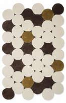 Gandia Blasco Hand Tufted Circles beige Rug 360x90