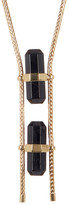 House Of Harlow Double Black Tourmaline Necklace