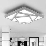 Damjic Nordic Personality Led Ceiling Lamp Modern Minimalist Square Light Ceiling Atmospheric Bedroom Artistic Ceiling Lamp
