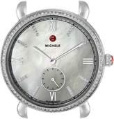 Michele Women's MW26A01A1046 Gracile Analog Display Swiss Quartz Silver Watch