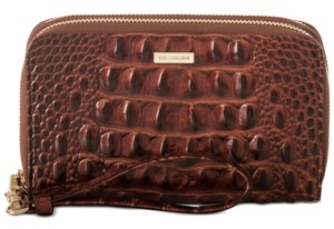 Brahmin Zora Melbourne Embossed Leather Wallet