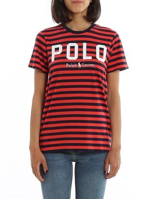 Polo Ralph Lauren Logo Striped T-Shirt