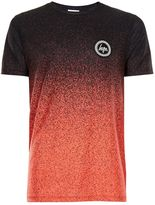 Hype Red And Black Speckle Fade T-shirt*