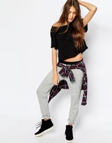 Pull&Bear Suedette Waist Joggers