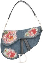 Christian Dior pre-owned Patched Saddle hand bag