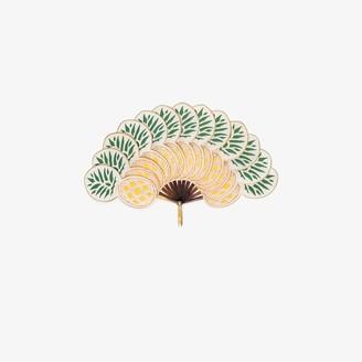 Pubumésu Multicoloured Nanas Large Pineapple fan
