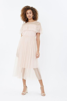 Coast Tulle Frill Midi Dress