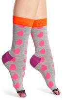 Happy Socks Women's Diagonal Hearts Socks
