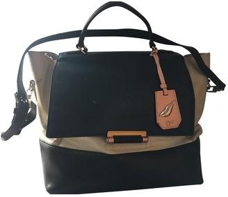 Diane von Furstenberg Blue Leather Handbags
