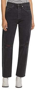 AGOLDE 90s Wide Leg Jeans in Smokestack