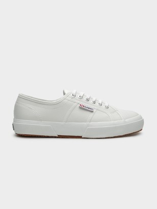 Superga Unisex 2750 Cotu Classic Sneakers in White Leather