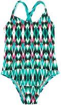 Lygia E Nanny Kids printed swimsuit