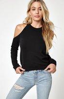 La Hearts Cold Shoulder Sweatshirt