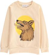 Mini Rodini Organic Cotton Wolf Sweatshirt